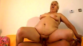 Meaty ugly fair-haired mature whore..