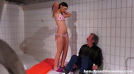 Perverted young chick Anina Silk..