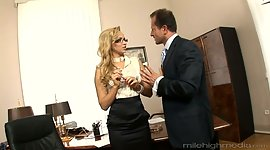 Best sexy secretary Aleska Diamond..