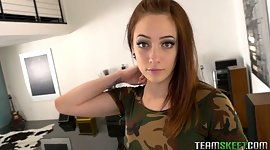 Tantalizing chick Rylee Renee is..