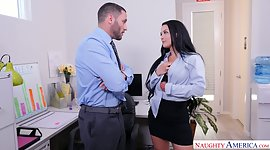 Office doxy Katrina Jade hooks up with..