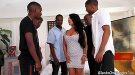 Each black studs fuck mega busty wench..