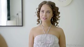 Cute babe Jenny Fer is buggered and..