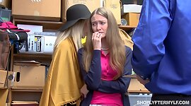 Matured woman and her stepdaughter get..