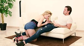 Drilled in anus babe Anna Ray takes..