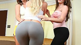 Angelique training MILFs on how to..