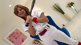 Lewd and sensuous Japanese baseball..